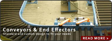 End Effectors and Conveyor Systems